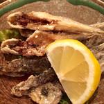 魚菜酒笑 吉 - 小アジの唐揚げ