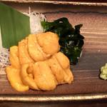 魚菜酒笑 吉 - ウニの刺身
