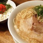 フジヤマ55 梅田 - 明太子ごはんセット ¥790円