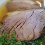 ビューレストラン スカイライン - 牛肉チャーシュー