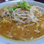 千代田しらかばラーメン - 料理写真:みそラーメン(大盛700円)