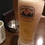 炭火焼鳥 こっこや - 生ビール