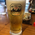 串かつ 炉端焼き いるり - 生ビール
