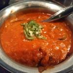72043492 - チキンひき肉の辛いカレー