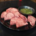 焼肉 主水 - 料理写真:上タン☆
