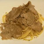 イタリアンレストラン Zucca - サマートリュフのカルボナーラ