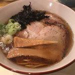 中華そば GO.TO.KU 仁 - 厳選七種の上品煮干しそば 800円。
