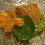 イタリアンレストラン Zucca - 甘鯛のウロコ焼き
