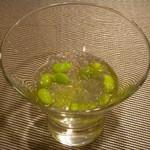 イタリアンレストラン Zucca - 枝豆のジュレ