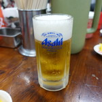 神戸ラーメン 第一旭 - ☆生ビール(^O^)☆
