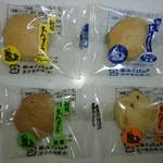 ちんすこう本舗 新垣菓子店 - プレーン、海塩、黒糖、ごま塩