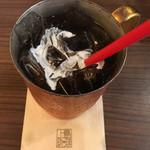 上島珈琲店 - アイスコーヒーS(360円)