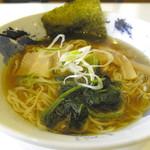 麺屋 神鳴 - 煮干し醤油ラーメン(750円)