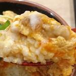 丸亀製麺 - 卵がとろ~り、これ美味しい!