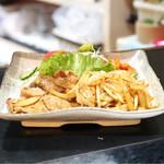 格子戸 - ☆豚の生姜焼き