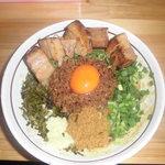 濃厚担々麺 はなび  - ド肉台湾まぜそば