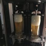 うめだ阪急ビアガーデンマルシェ - ビールサーバー