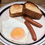 72054494 - トースト皿(日替わりトーストセット)