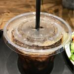 72054497 - アイスコーヒー(日替わりトーストセット)