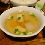 熱帯食堂 - スープ