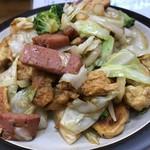 沖縄料理オナガ家 - 麩ちゃんぷる