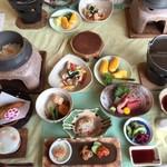 ニュースカイ - 料理写真:夕食