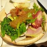 ややダイニング - ややダイニング@道後温泉 朝食のサラダ