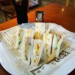 サンドウィッチハウス やまびこ - 料理写真: