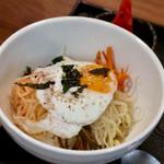 まる飯 - ナムルビビンバ(+100円)
