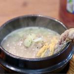 まる飯 - 参鶏湯