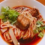ゆきふじ - 紅湯麺