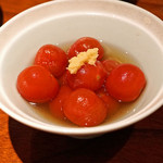 とっぴんぱらりのぷ - ミニトマトのおひたし