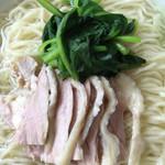 中国四川料理 太陽 - 鶏塩麺ズーム