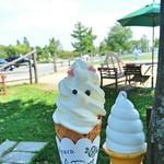 まきばカフェ - 料理写真:アルパカソフトクリーム 300円