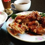 坦々麺や 昇龍天 - ザンタレ定食(税込720円)