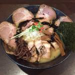 らーめんキラリボシ - 濃厚塩ラーメン¥850+チャーシュー¥200