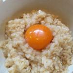 麺屋 むどう - 卵かけご飯