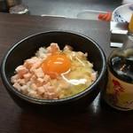 らぁ麺 紫陽花 - 本気のTKG(税込200円)