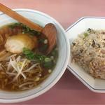 香龍 - 焼飯ラーメンセット  700円