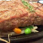 ステーキ共和国 - お肉の焼き加減こんなの・・なんか変