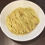 麺屋りゅう - つけめん 特盛(麺)(アップ)