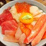 みなと食堂 - 漁師の漬け丼 1700円限定7食!