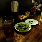 ばんや - 烏龍茶と旨い枝豆!
