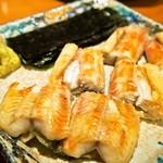 錦 - 鰻白焼き