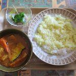 カレーハウス 伽羅 - 伽羅オリジナルスープカレー(700円)