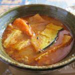 カレーハウス 伽羅 - スープカレーのアップ