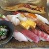 魚力 海鮮寿司 - 料理写真:夏季限定 旬の収穫にぎり(椀、茶碗蒸し付)2000円税込