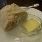 ベルギービール アントワープ セントラル - パン、バター