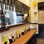 大衆鉄板食堂 栄屋 - カウンター