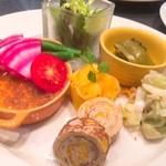 イルフェボウ - 料理写真:野菜のオードブル